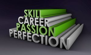 skill career passion perfection